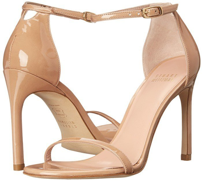 Stuart Weitzman Bridal & Evening Collection Nudistsong in Adobe Aniline