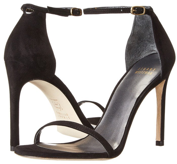 Stuart Weitzman Bridal & Evening Collection Nudistsong in Black Suede