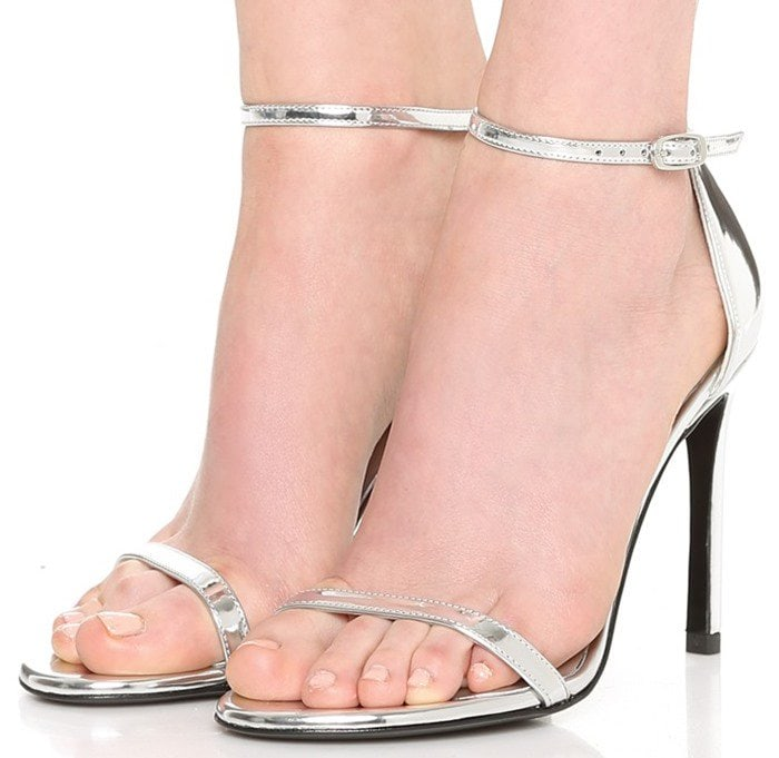 Stuart Weitzman Bridal & Evening Collection Nudistsong in Silver