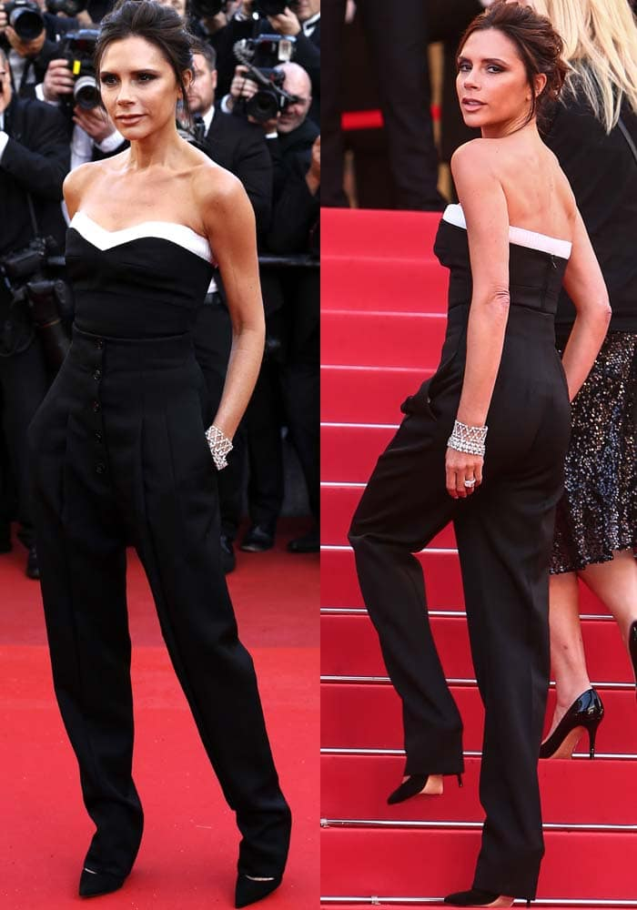 Victoria Beckham Cannes Gianvito Rossi 2