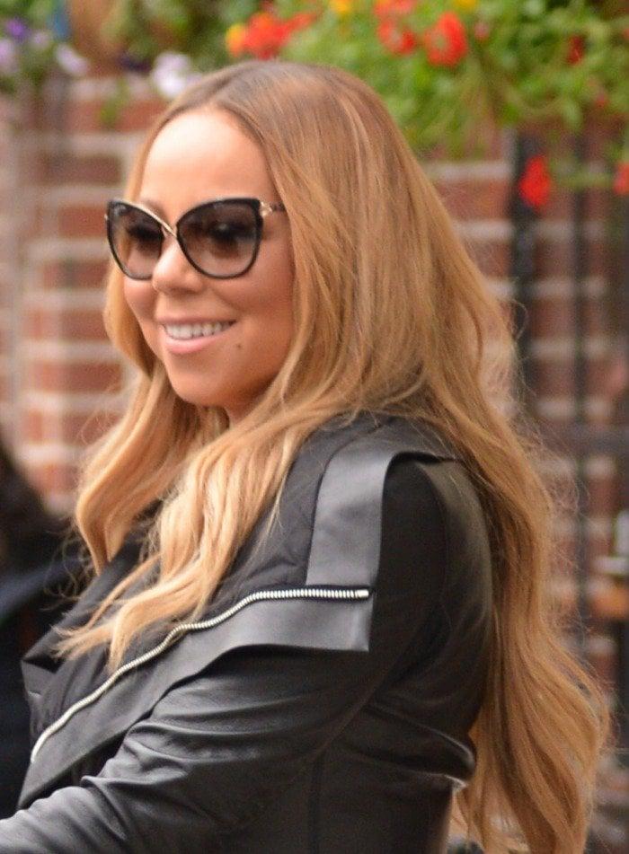 Mariah Carey christian louboutins
