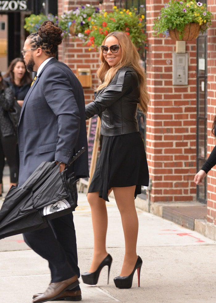 Mariah Carey Christian louboutin