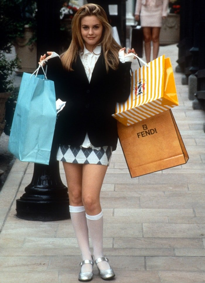 """Alicia Silverstone was 18 when filming Clueless as Cherilyn """"Cher"""" Horowitz"""