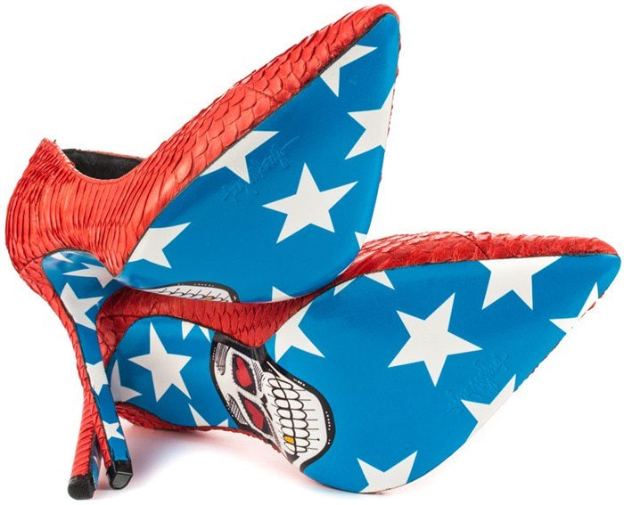 American Skull - Red Taylor Says Soles