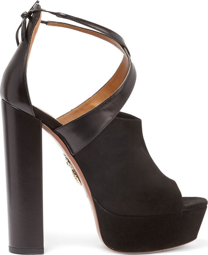 Aquazzura-Kaya-leather-suede-platform-sandals
