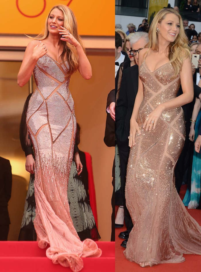 Blake Lively attends the opening gala ceremony in Cannes