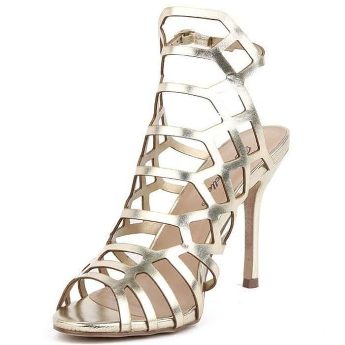 """Breckelles """"Sylvia-11"""" Cage Sandals"""