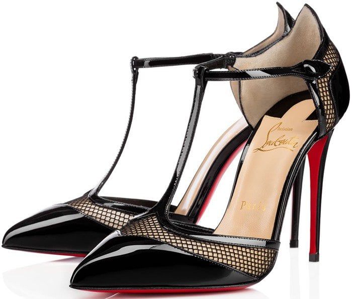 Christian Louboutin Miss Early Patent 100mm Red Sole Pump