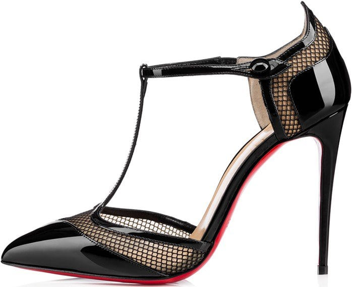 Christian Louboutin Miss Early Patent 100mm Red Sole Pumps