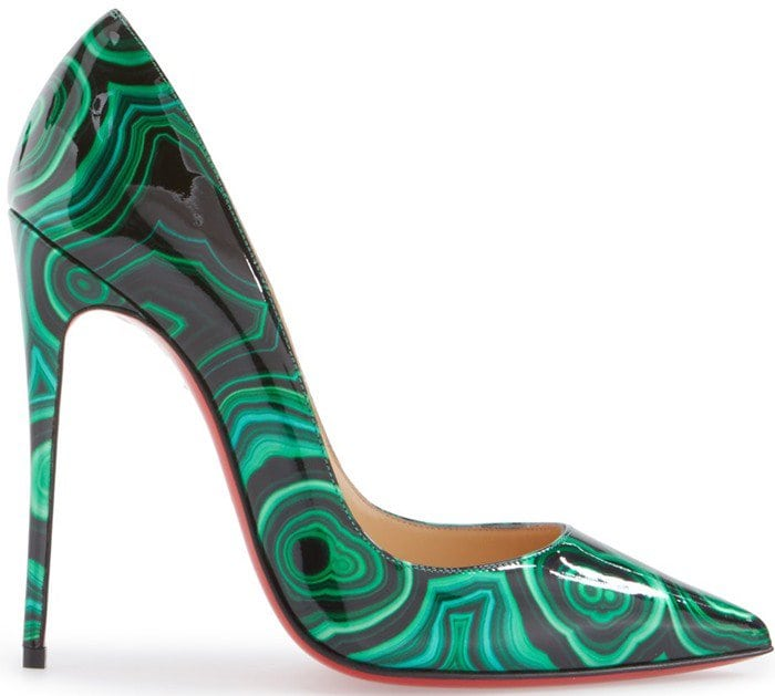 hot sale online 79da0 de1c1 Vivica A. Fox in Green Marble Christian Louboutin 'So Kate ...