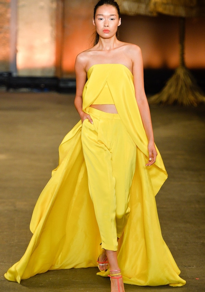 Christian Siriano Spring 2014 Pant Suit