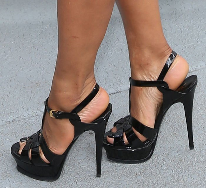 Christina-Milian-Saint-Laurent-Tribute-Sandals
