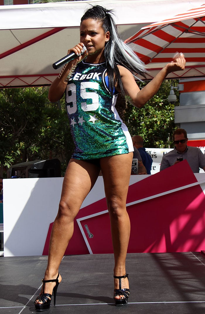 Christina-Milian-performs-Go-Pool-Flamingo-Las-Vegas