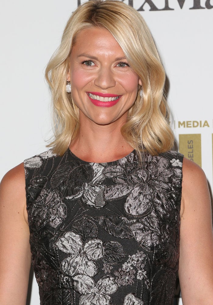 Claire Danes at the 2016 Women in Film Awards in Los Angeles on June 15, 2016