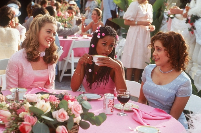 A loose adaptation of Jane Austen's 1815 novel Emma, Clueless stars Alicia Silverstone, Stacey Dash, and Brittany Murphy