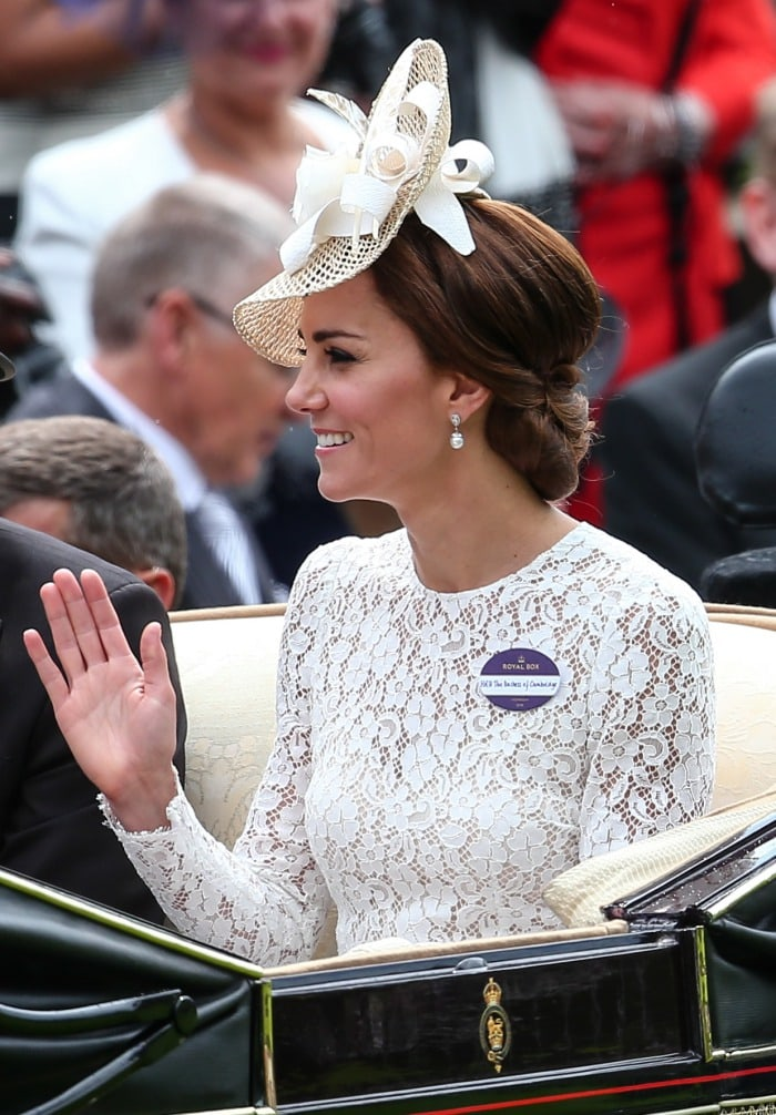 Duchess of Cambridge Royal Ascot day 2