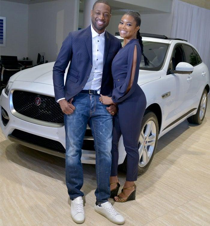 Gabrielle Union Jaguar Launch Prada 4