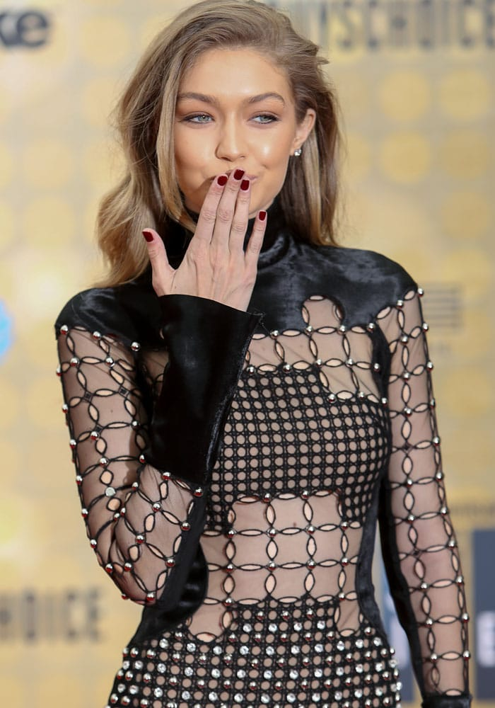 Gigi Hadid Guys Choice Awards Giuseppe Zanotti 4