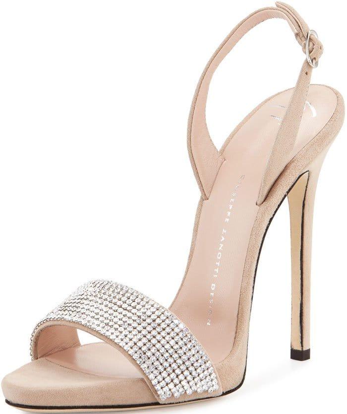 Giuseppe Zanotti Coline crystal 110mm sandals
