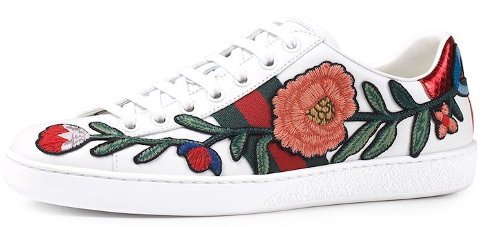 Gucci Ace Floral Sneakers4