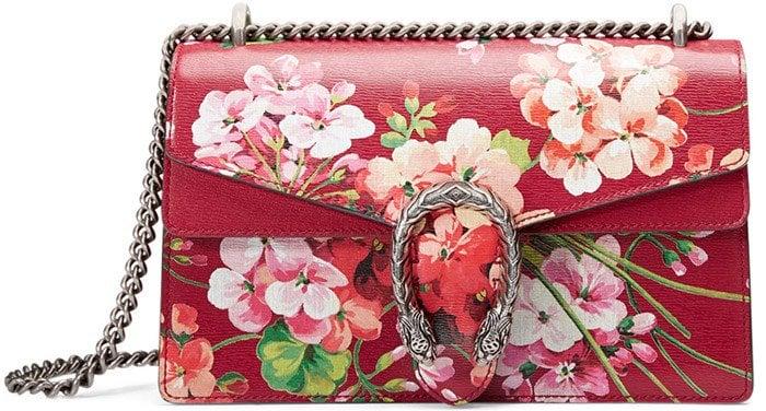 Gucci 'Dionysus Blooms' Small Shoulder Bag