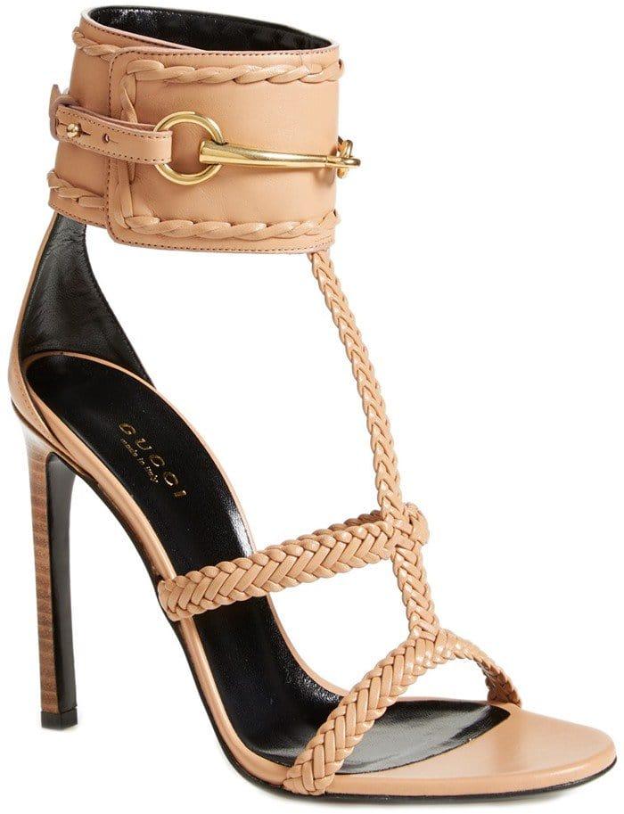 Gucci 'Ursula' Braided Sandals