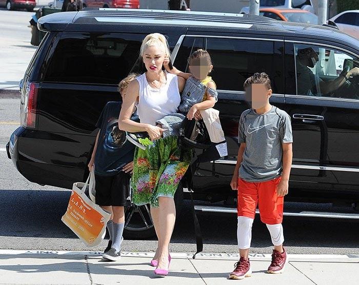 Gwen-Stefani-kids-Church