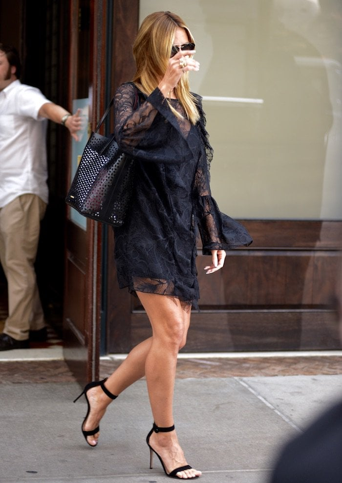 Heidi Klum NYC jun 17