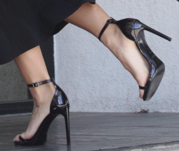 Jenna Dewan Tatum LA jun 22 shoes