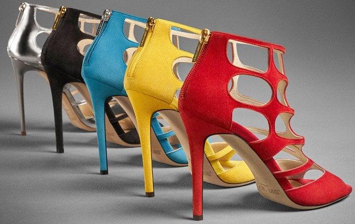 Jimmy Choo Ren Caged Sandals