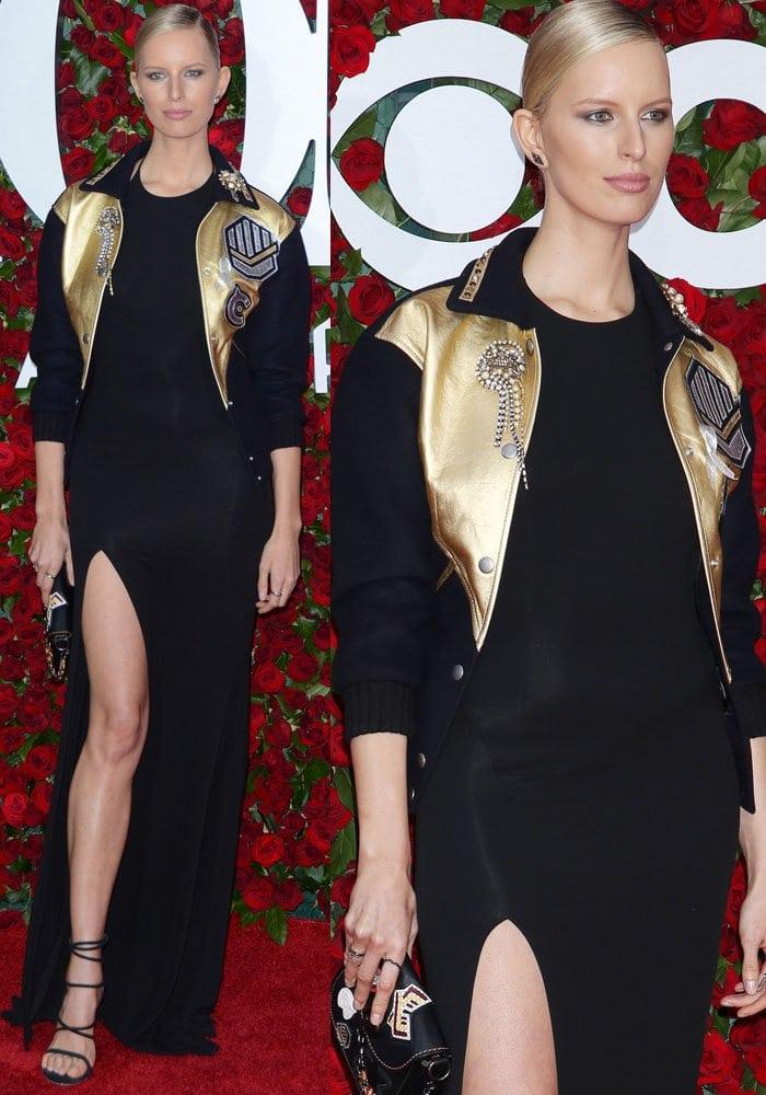 Karolina Kurkova 2016 Tony Awards Stuart Weitzman 3