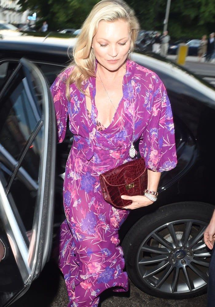 Kate Moss VA Summer Party Christian Louboutin 4