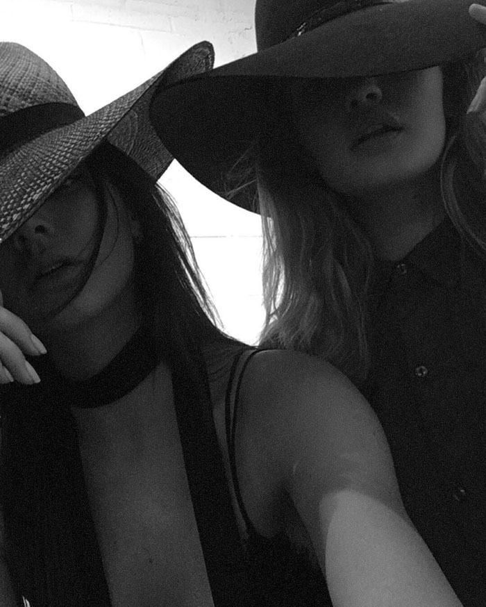Kendall Jenner Gigi Hadid Adidas Chloe Sneakers IG