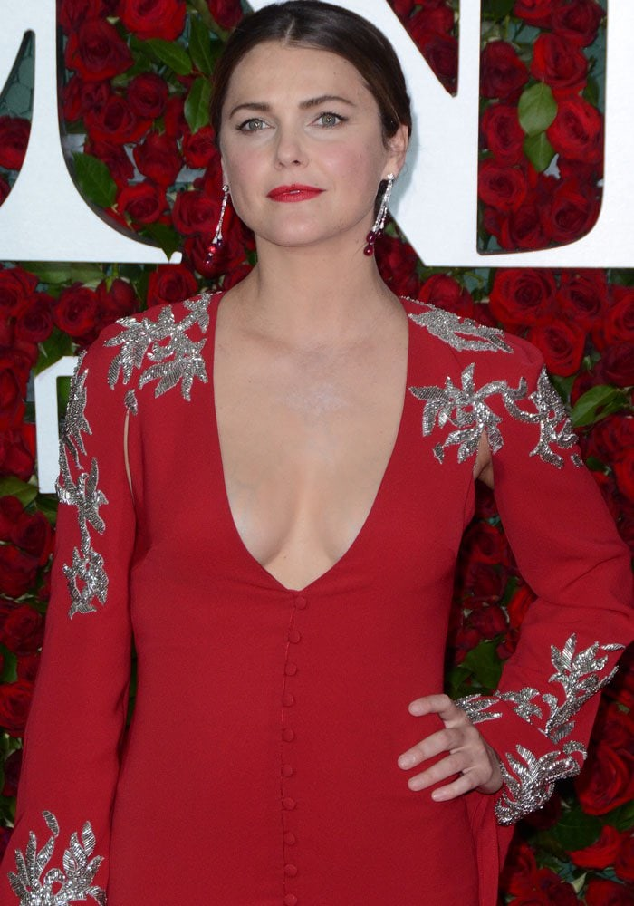Keri Russell at the 2016 Tony Awards in New York on June 13, 2016