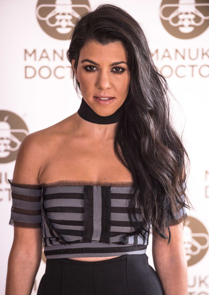Kourtney Kardashian Manuka doctor