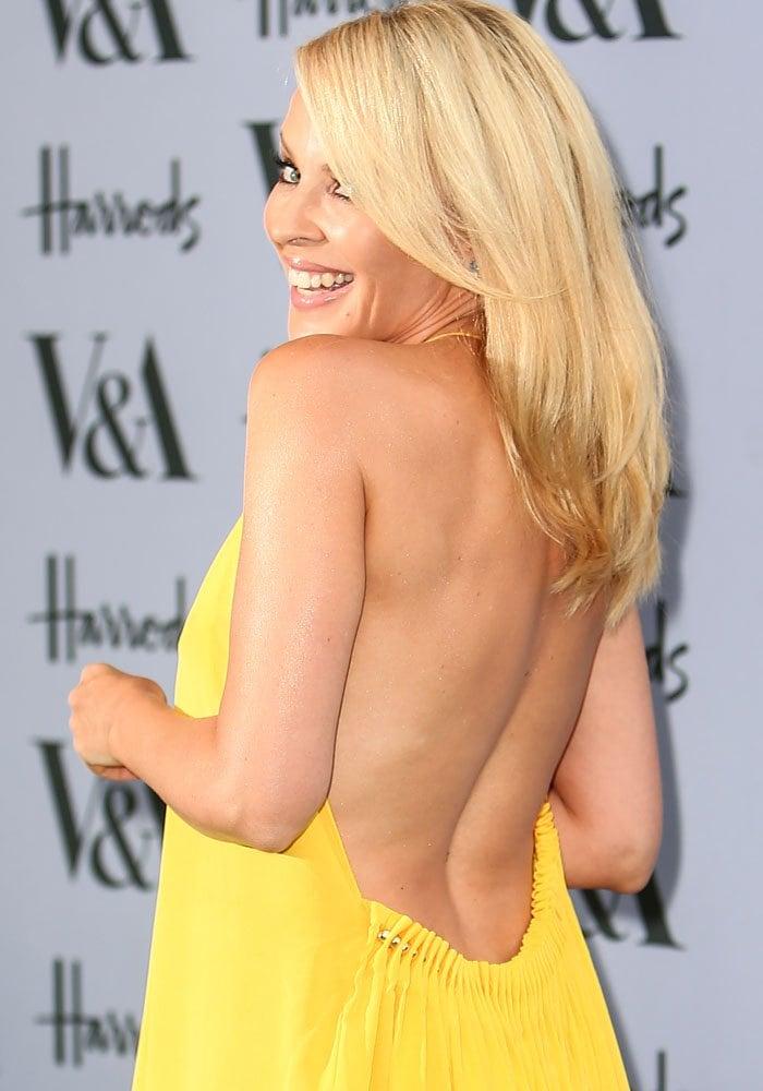 Kylie Minogue VA Summer Party Gold Sandals 4