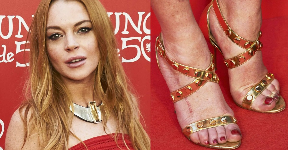 Lindsay Lohan Promotes Jewelry Brand Unode50 In Tiffany