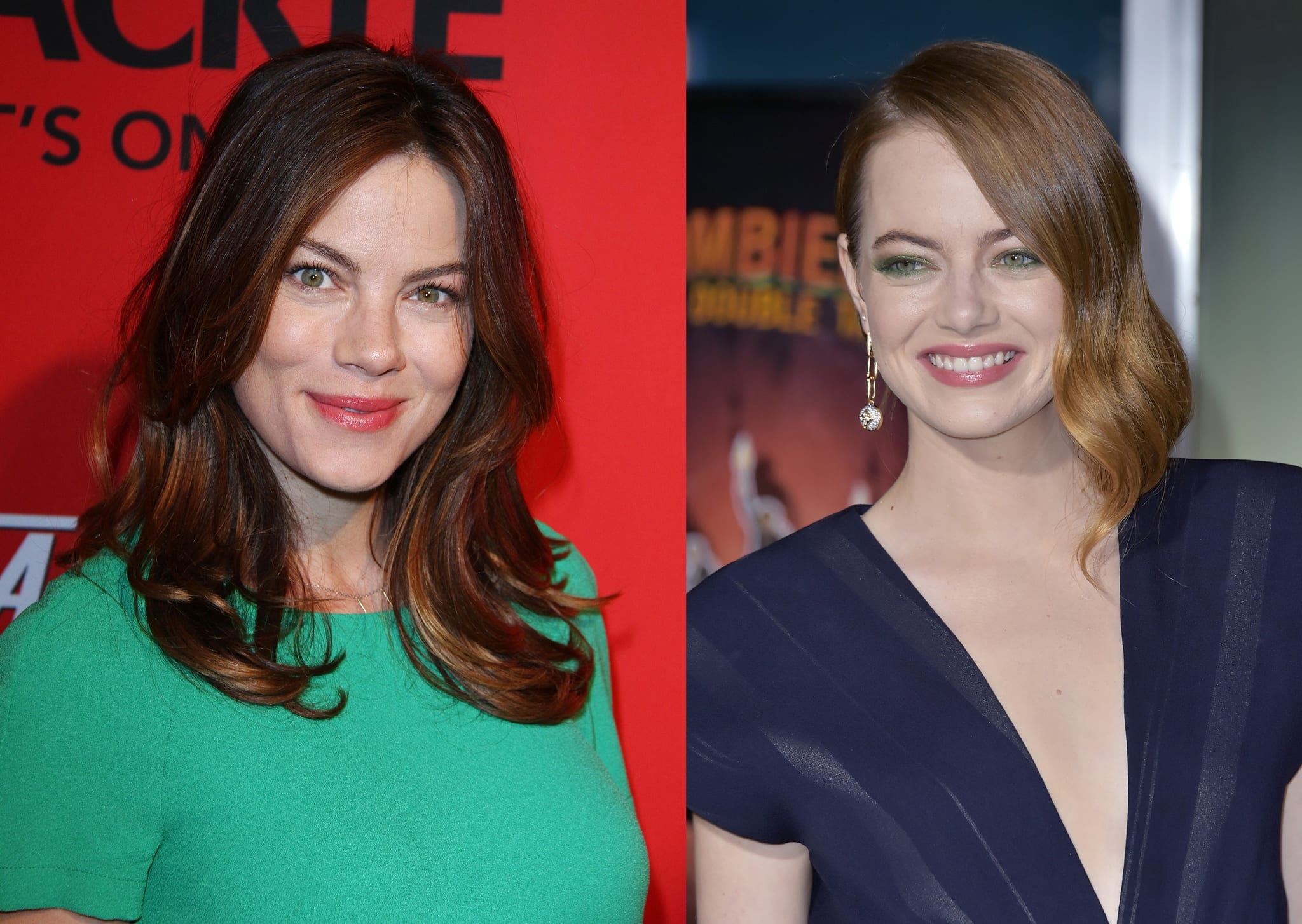 Michelle Monaghan and Emma Stone may look alike but are not related