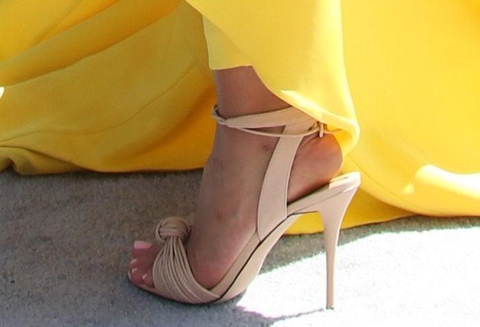 Mya 2016 BET Awards shoes