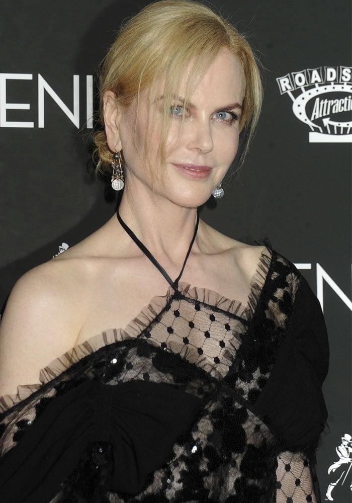 Nicole Kidman Genius New York Gianvito Rossi 1
