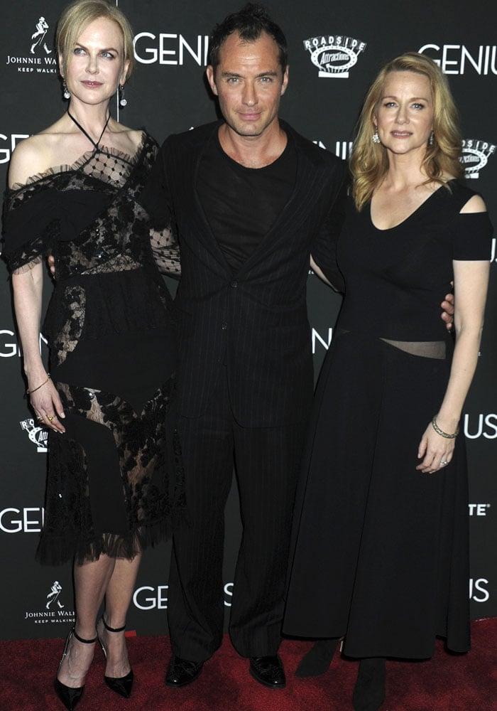 Nicole Kidman Genius New York Gianvito Rossi 4