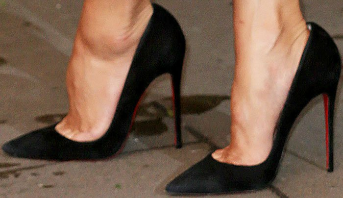 Nicole Scherzinger One for the Boys Christian Louboutin 2