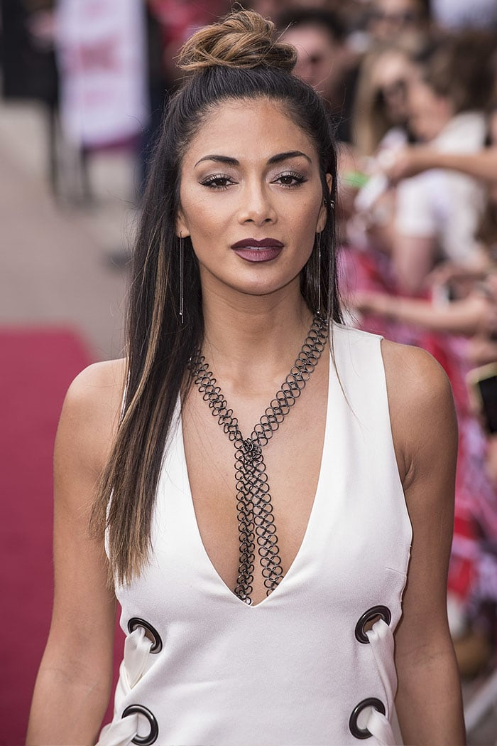 Nicole Scherzinger at The X Factor UK auditions in London, England, on June 19, 2016