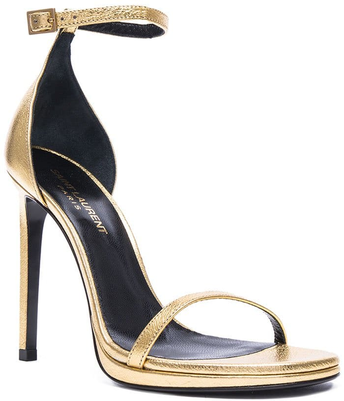 Saint Laurent Jane Gold 1
