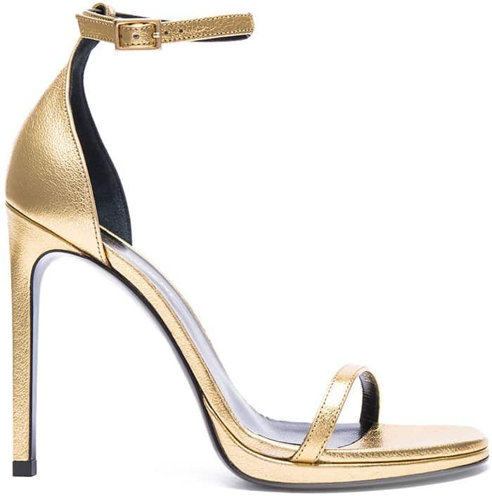 Saint Laurent Jane Gold 3