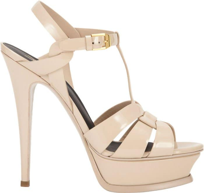 Saint-Laurent-Tribute-Platform-Sandals-Beige