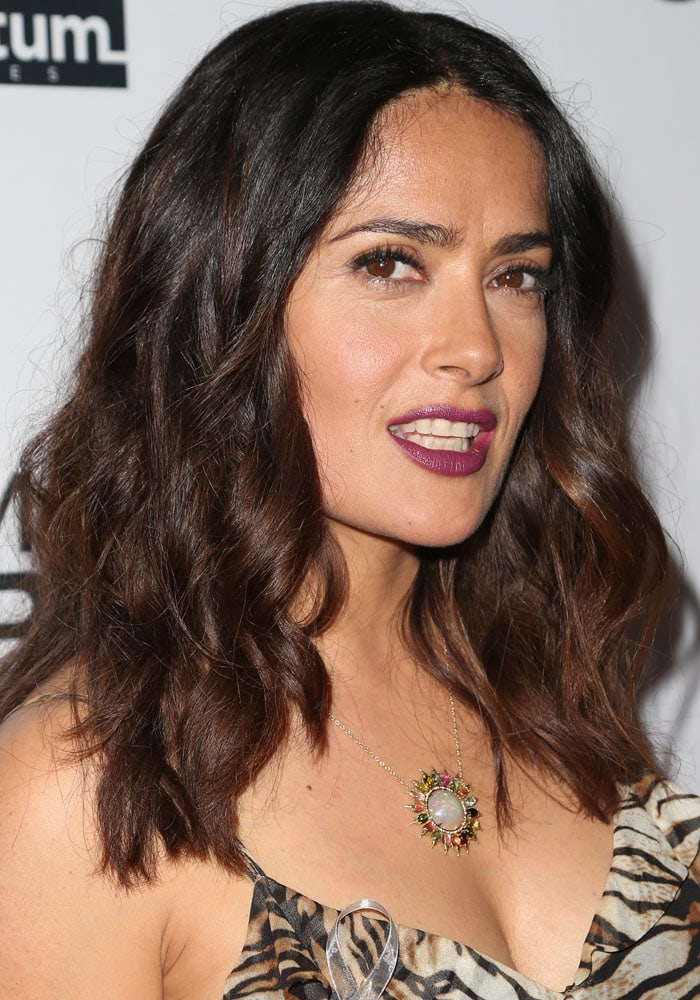 Salma Hayek Septembers of Shiraz Saint Laurent 1