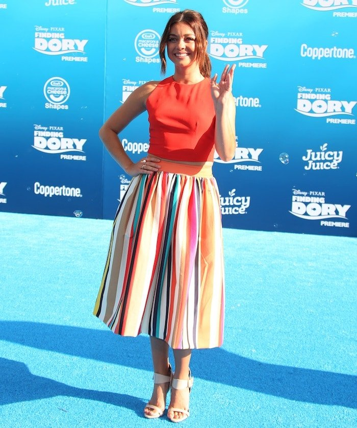 Sarah Hyland Finding Dory premiere