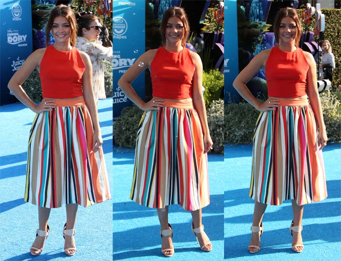 Sarah Hyland Finding Dory premiere2