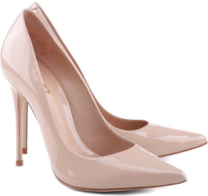 Schutz Nude Court Shoes